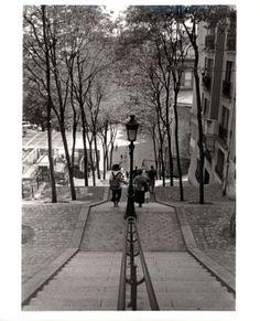 Sacre Couer Steps, Paris, France