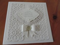 Wedding day using Sue Wilson dies Wedding Day Cards, Wedding Cards Handmade, Wedding Anniversary Cards, Greeting Cards Handmade, Spellbinders Cards, Stampin Up Cards, Pretty Cards, Love Cards, Engagement Cards