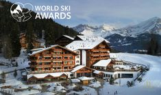 l WORLD SKI AWARDS 2018 l The Chalet RoyAlp is the finalist for Switzerland's Best Ski Hotel 2018!!! Please Vote for us/ Votez pour nous~~ goo.gl/WfYBTn Spa, Le Havre, Switzerland, Skiing, 15 Avril, Cabin, Luxury, House Styles, World