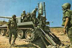 IDF using M107 howitzer.