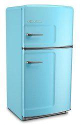 Big Chill Retro Original Top-Freezer Refrigerator