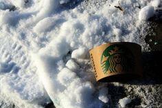 Starbucks! #Invierno #Nieve