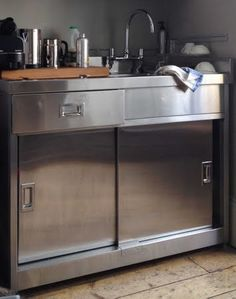 Best Stainless Steel Sink With Sliding Doors Garages 400 x 300