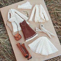 Бохо одежда для куклы Boho chic doll clothes