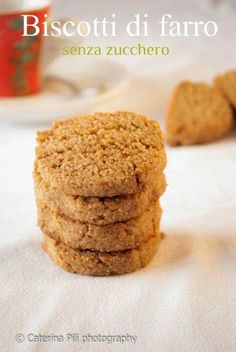 Semplicemente Light: Biscotti di farro senza zucchero,ricetta vegana