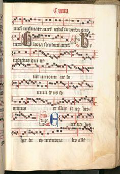 Missale, cum notis musicis et cum figuris literisque pictis Berthold Furtmeyr Clm 23032 [Regensburg], Ende 15. Jahrhundert Folio 124