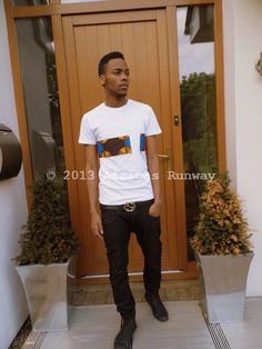 Africas Runway's White Tee Summer Collection