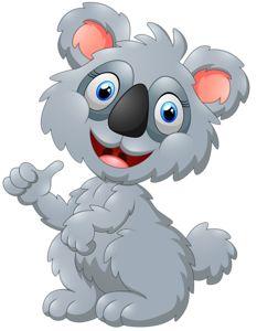 cute koala cartoon presenting Bear Clipart, Cute Clipart, Cartoon Present, Emoticon Faces, Cute Images, Portfolio, Cartoon Art, Painted Rocks, Cute Animals