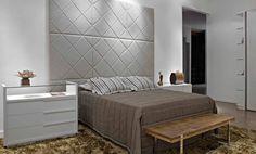 Um painel como este indo do chão ao teto ficaria ótimo no novo quarto!