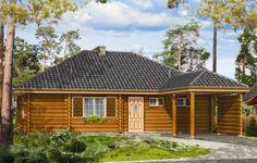 Projekt Zagajnik to projekt małego i ekonomicznego domu z bali. Wnętrze domku ukształtowano z podziałem na część ogólną, dzienną - z salonem oraz część prywatną, nocną z trzema sypialniami i łazienką. Może być traktowany zarówno jako dom jednorodzinny, jak i letniskowy.