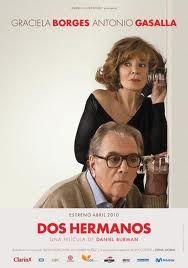 cine argentino Graciela Borges Antonio Gasalla en DOS HERMANOS. Película de Daniel Burman.