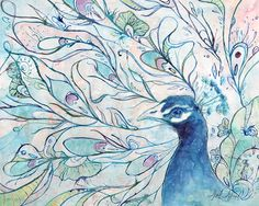 Heidi Ahmed   Watercolor