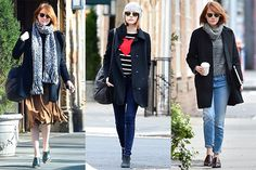 3 Times Emma Stone Made Bundling Up Look Impossibly Chic