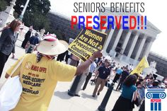 With the huge decision to uphold the Healthcare Reform Law, Seniors' benefits are PRESERVED!