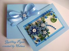 Quilling Card Quilled Birthday Card  Birthday by MadeByHelenka