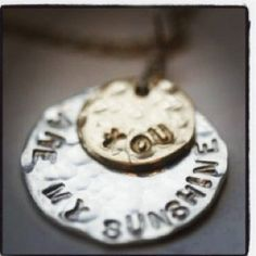 You are my Sunshine Necklace – Erin McDermott Jewelry