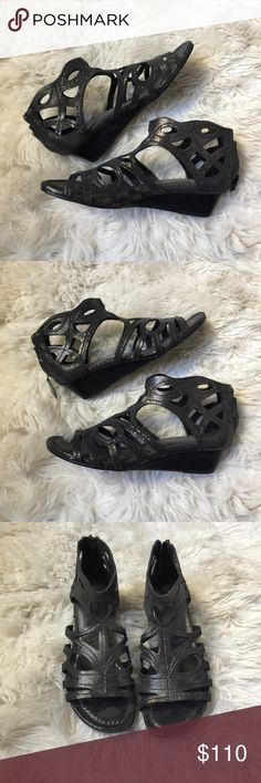 Donald J. Pliner Wedges Donald J. Pliner Wedges. Size 6.5. Wonderful condition. Leather upper and sole. Donald J. Pliner Shoes Wedges