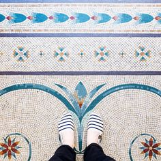 Top 3 Tile Trends - Home Decor Tile Art, Mosaic Art, Mosaic Glass, Mosaic Tiles, Floor Patterns, Mosaic Patterns, Textures Patterns, Ceramic Floor Tiles, Tile Floor
