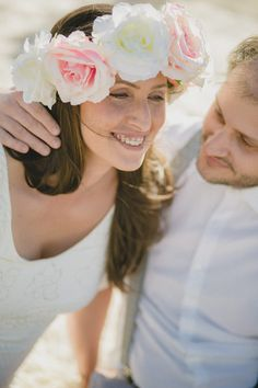 Boho-style pre-wedding photography (Kostas & Alexandra) #preweddingphotography #couplephotosession #bohoprewedding #bohobride #preweddingmoments #coupleportrait #fineartphotography