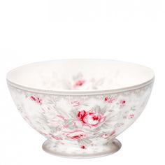 GreenGate Stoneware French Bowl Sophie Vintage Large D 13,5 cm | Autumn/Winter 2013 | Originated-Webshop