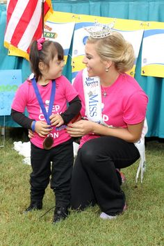 Ms. New Mexico at the SENM Buddy Walk