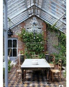 """1,174 Likes, 32 Comments - Kate Abt Design (@kateabtdesign) on Instagram: """"I would love a green house and this has just stepped it up a little more with this gorgeous…"""""""