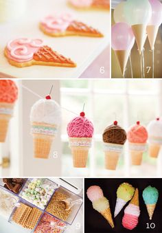 10 Ice Cream Party Ideas. I am planning a Family Night (Old Fashioned Ice Cream Social for July) Using a lot of ideas from the ice cream board where I pinned items