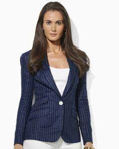 Lauren Ralph Lauren Valerine One-Button Jacket | Bloomingdale's