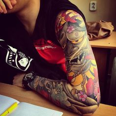 150  Japan Tattoos Pictures #japan #tattoo Before you commit to the needle why not try our tattoos so you change change the designs until you are 100% happy https://www.amazingraymond.com.au/liveflesh.htm
