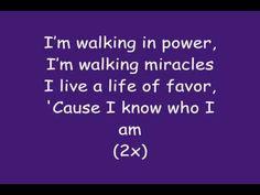 Sinach - I Know Who I Am (Lyrics)