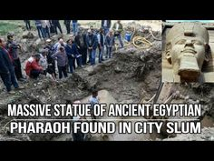 Close Encounters UFO: Massive Statue of Ancient Egyptian Pharaoh Found i...