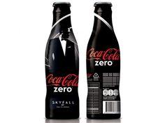 Limited Edition Coca Cola Zero James Bond Skyfall