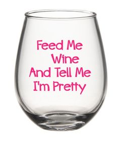 For when you just need to tell it like it is. | 21 Wineglasses That Understand Your Struggle