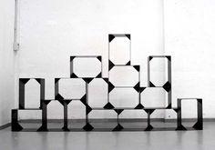 SALONE MILAN 2012: TORTONA DESIGN WEEK - Nendo: Brace Storage Unit - nendo - Core77