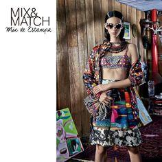 Inspiração para a sexta-feira: mix de estampas ultracoloridas no editorial da ELLE BRASIL de janeiro!
