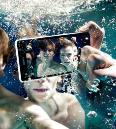Awesome underwater shot taken with the Sony Xperia ZR waterproof smartphone! #photography