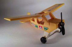 Vintage Fisher Price Adventure People Yellow Ranger Plane #307~1976 #FisherPrice