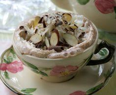 Almond Joy Hot Chocolate