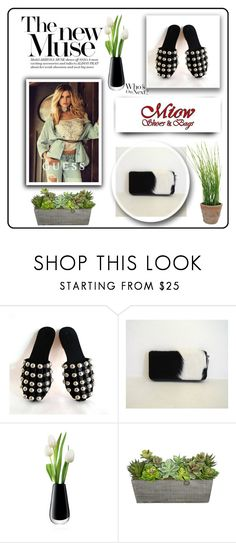 """""""MiowBali 9"""" by umay-cdxc ❤ liked on Polyvore featuring GUESS, LSA International and Esschert Design"""