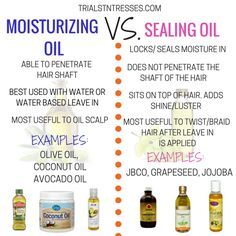 Moisturizing Oil Vs Sealing Oil is part of Natural hair care - It is crucial to your hair regimen that you are able to differentiate a moisturizing oil vs sealing oil so you know when to use which ones Natural Hair Regimen, Natural Hair Care Tips, Natural Haircare, Natural Hair Growth, Natural Hair Journey, Relaxed Hair Regimen, Relaxed Hair Growth, Natural Oils For Hair, Long Relaxed Hair