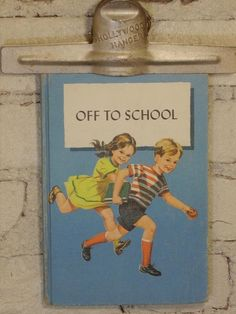 Vintage 1960 Primary School Reader by MissMaudVintage on Etsy, $12.00 #teampinterest
