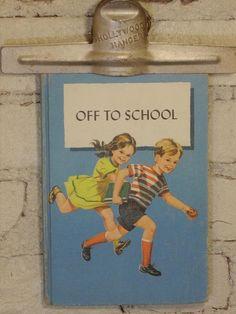 Vintage 1960 Primary School Reader by MissMaudVintage on Etsy, $12.00 #teampinterest
