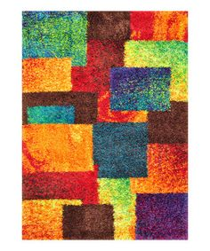 Take a look at this Multi Barcelona Shag Rug by Loloi Rugs on #zulily today!