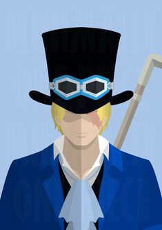 One Piece: The Lost Brother, Sabo by MinimallyOnePiece.deviantart.com on @DeviantArt
