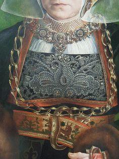 Portrait of Sibylla Kessel,Barthel Bruyn the Elder ( ca. 15401545)