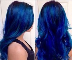 Sapphire Blue Hair321