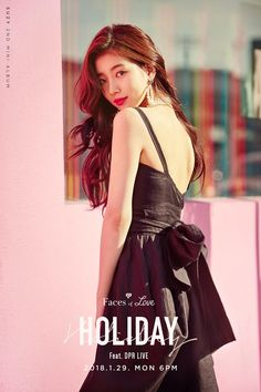 "Suzy Bae Mini album : Faces Of Love ""Holiday"" Bae Suzy, Korean Beauty, Asian Beauty, Top Beauty, Korean Celebrities, Celebs, Korean Girl, Asian Girl, Korean Style"
