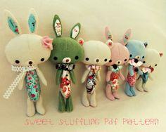 Текстильные игрушки gingermelondolls
