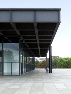 Ludwig Mies van der Rohe | Neue Nationalgalerie (New National Gallery) | Berlin, Germany, 1962-68