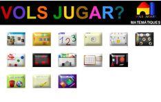Matemàtiques EI Apps, Templates, Digital, Paint, Ideas, School, Special Education, Games, Manualidades
